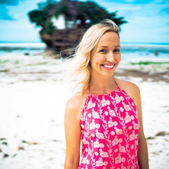 Stephanie Huff - The Pink Backpack