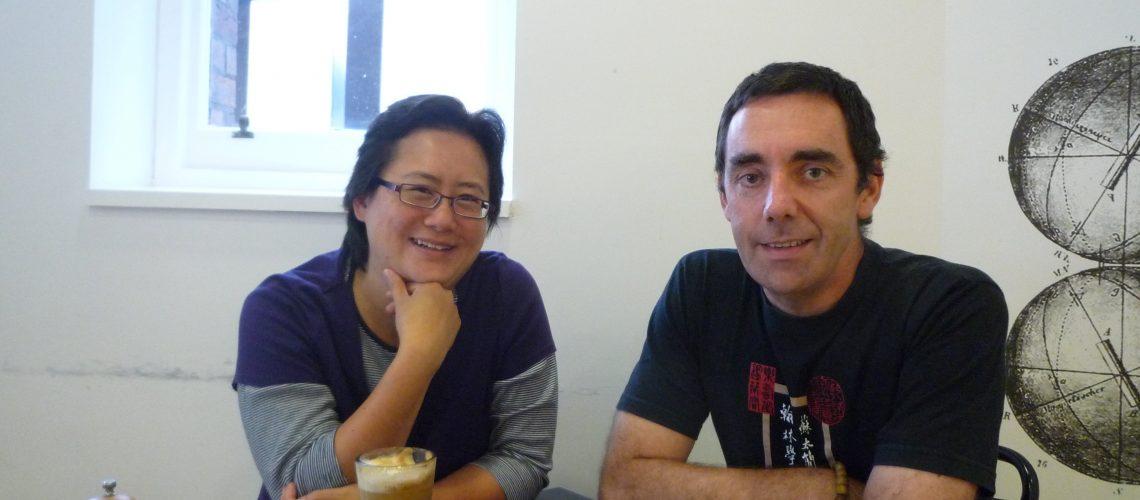 Jonathan O'Donnell and Tseen Khoo